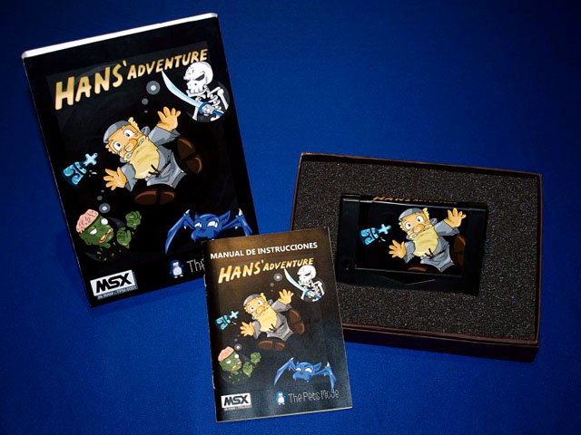 Caja Manual y cartucho Hans Adventure